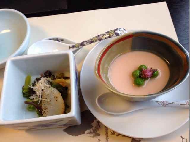 さくら豆腐&なの花の辛子浸し.jpg
