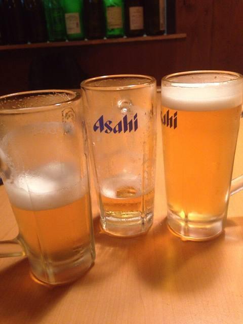 何故かビールがダブった.jpg