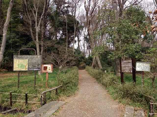公園側の散策路入口.jpg