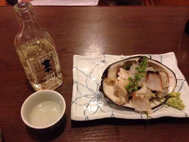 北寄貝と剣菱.jpg