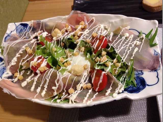 生ハムと温泉タマゴのサラダ.jpg