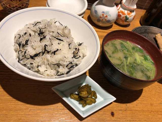 ちりめんじゃこご飯&味噌汁.jpg