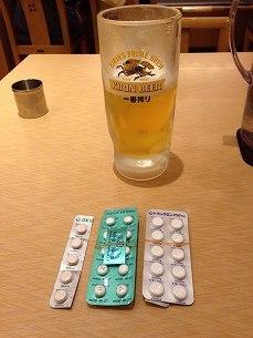 ビールで流し込む.jpg