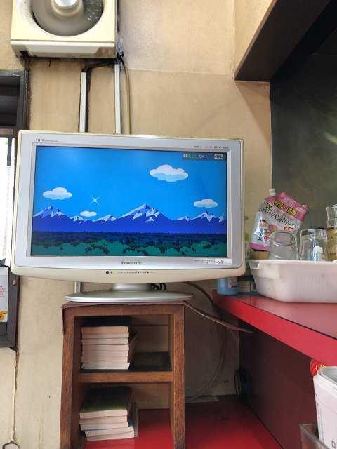 大音量のTV.jpg