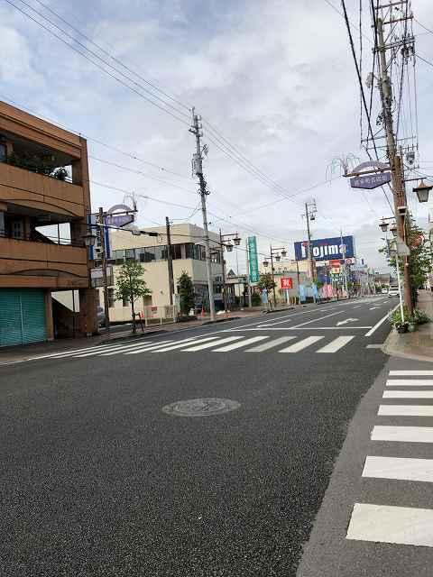 藤枝駅から歩く.jpg