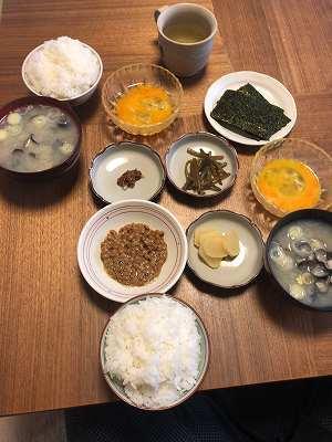 連休最後の朝餉.jpg