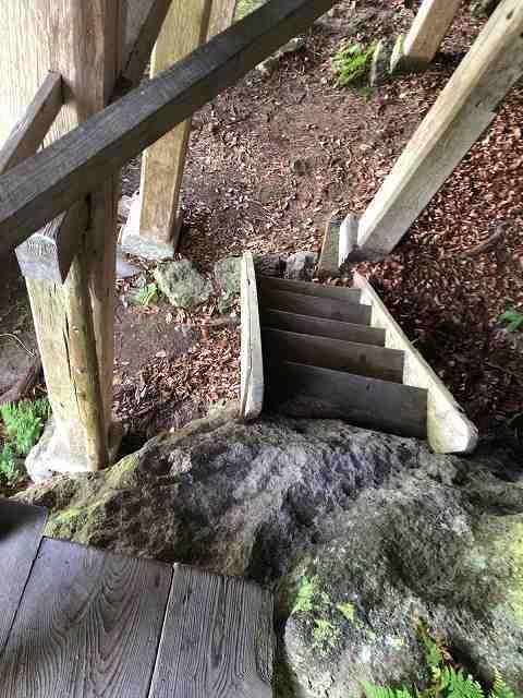 階段というかハシゴ段を下りる1.jpg