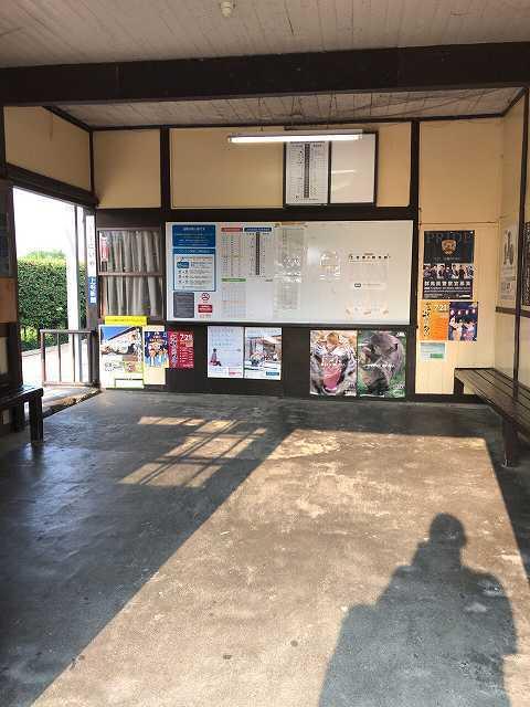 駅舎内はサウナ.jpg